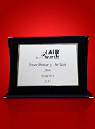 The Best Forex Broker in Asia 2016 by IAIR Awards